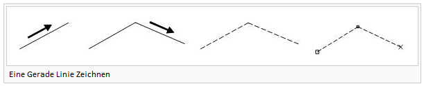 Draw a straight line