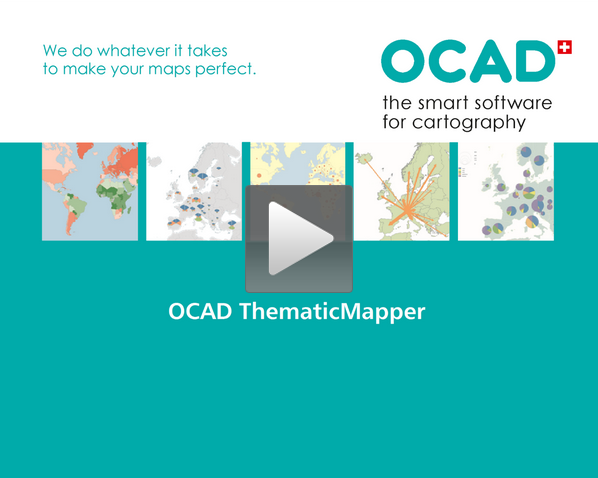 Create Thematic Maps with OCAD ThematicMapper