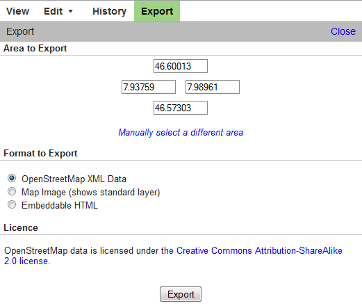 Import Open Street Map Files - OCAD Wiki - English