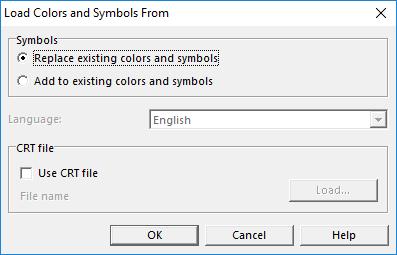 File:LoadColorsAndSymbolsFrom png - OCAD Wiki - English