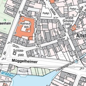 District of Berlin – Customised Maps for Berlin