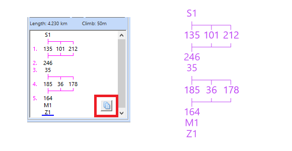 Copy and Export the Course Scheme in the OCAD Course Setting Module.