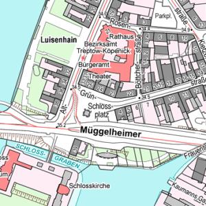 Stadtkarte von Berlin