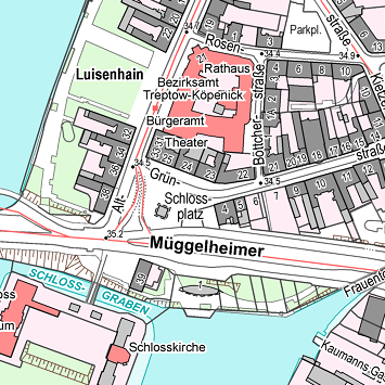 City Map of Berlin