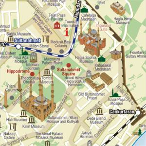 Karte von Istanbul