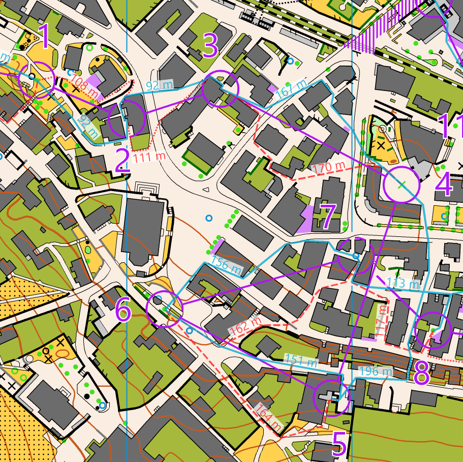 Routes from Swiss Sprint Champs 2019