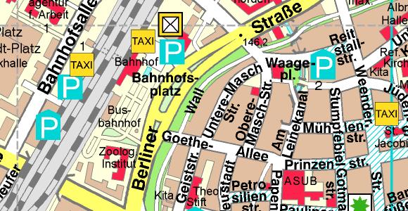 City Map of Göttingen